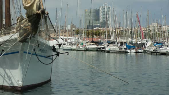 VideoHive Barcelona Harbour Port Boats Vacation Holidays Mediterranean 2 10970460
