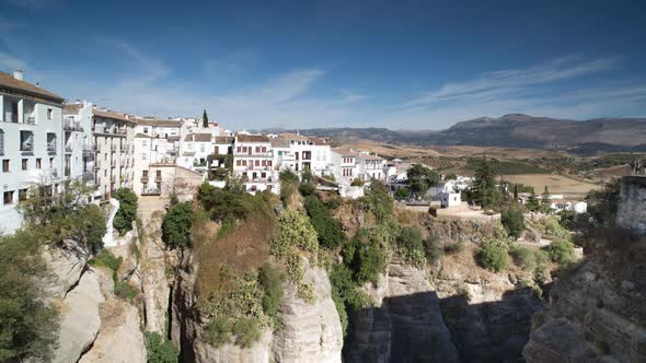 View Of The Beautiful City Of Ronda In Andalucia Spain 4