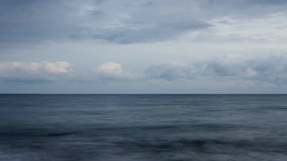 VideoHive Clouds Over Sea 10970459