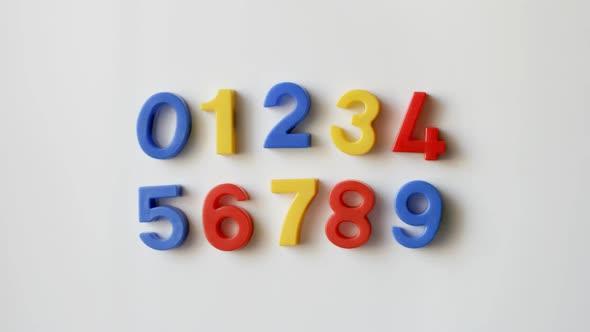 VideoHive Fridge Number Magnets 10970570
