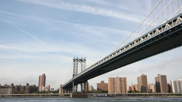 VideoHive Timelapse Of Manhattan Bridge New York 3 10970866