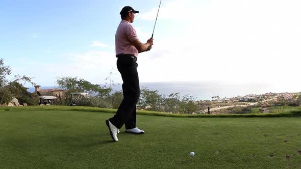 Golf Bunker Swing Mexico Luxury 9
