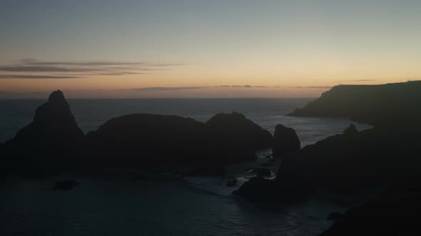 Timelapse Of The Stunning And Dramatic Coastline In Cornwall Coast England 3