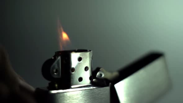 Slow Motion Flame Fire 2