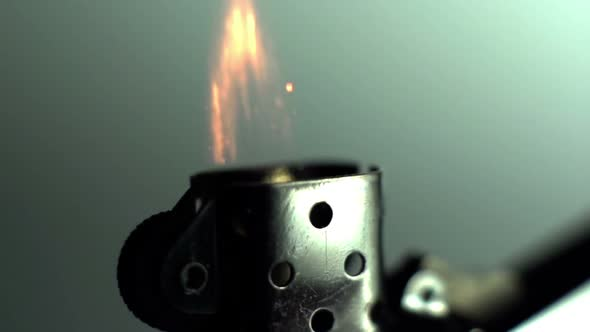 Slow Motion Flame Fire 3