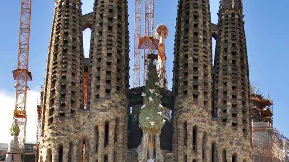 Sagrada Familia Gaudi Barcelona Church 6