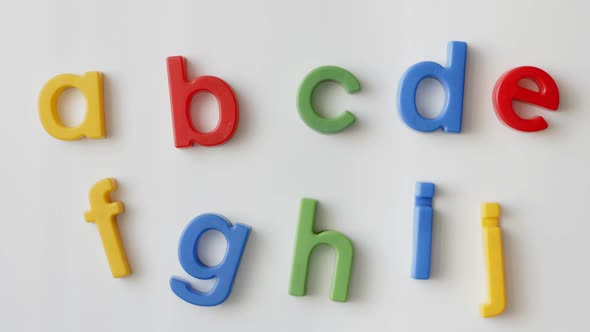 Alphabet Letters Magnets 2