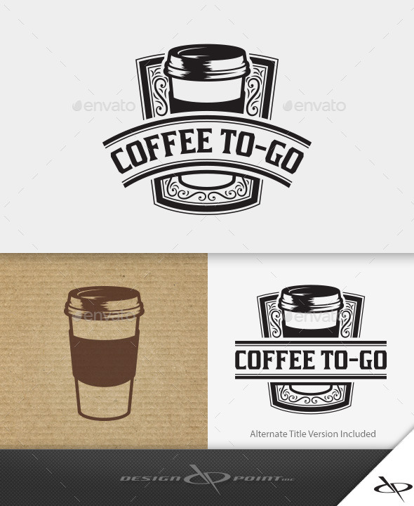 GraphicRiver Coffee To-Go Logo 10971858