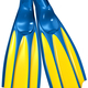 swim fins with blue rubber and yellow plastic - PhotoDune Item for Sale