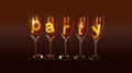 """A few glasses with the text """"party"""" - PhotoDune Item for Sale"""