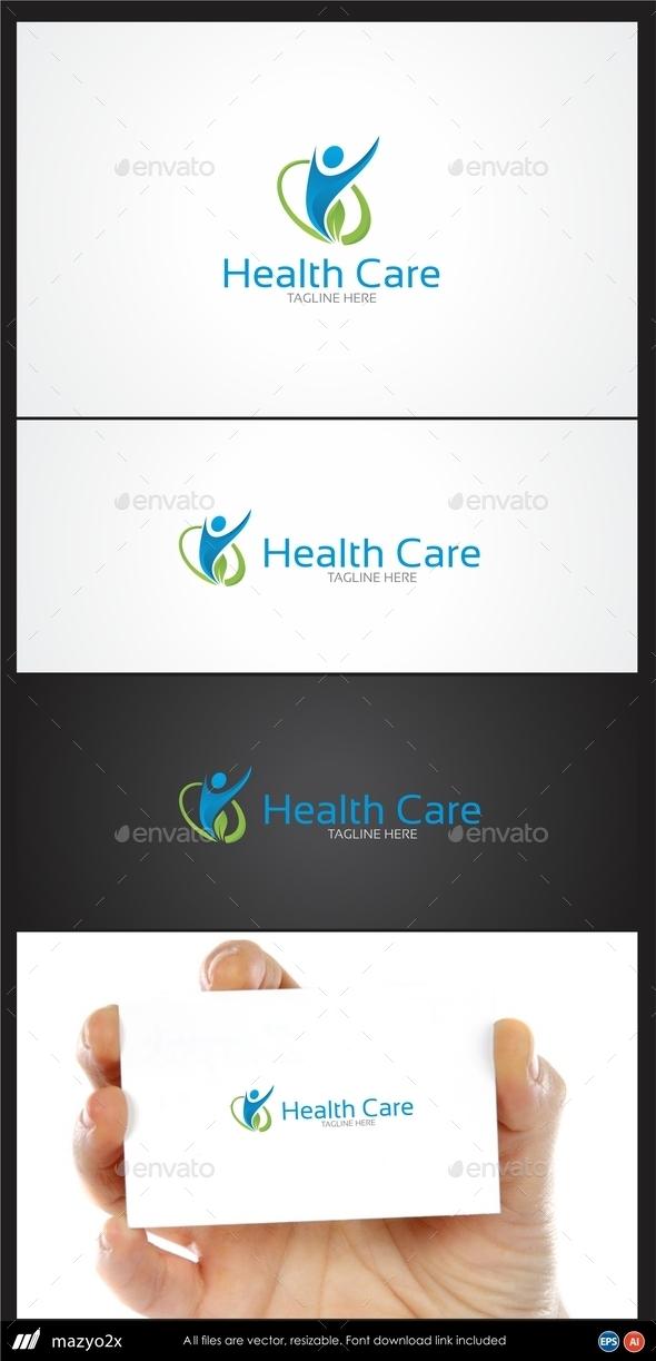 GraphicRiver Health Care Logo 10972123