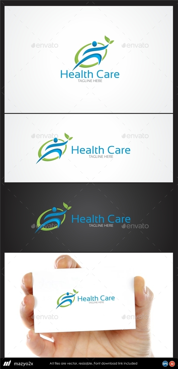 GraphicRiver Health Care Logo 10972135