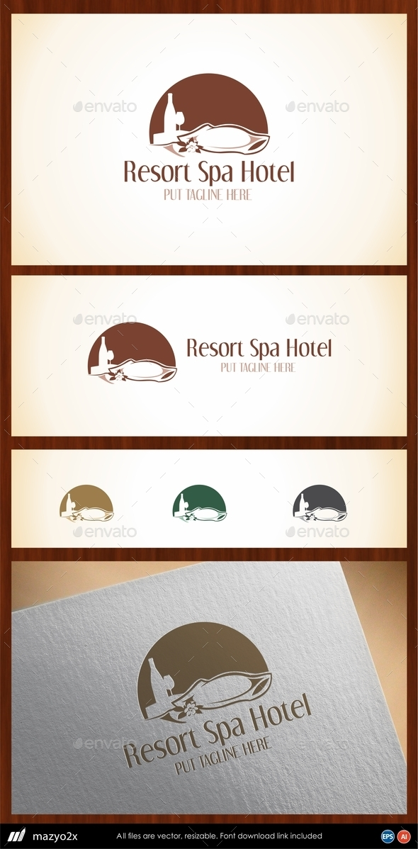 GraphicRiver Hotel Logo Template 10972143