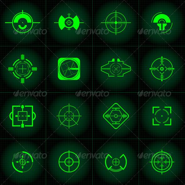 GraphicRiver Gun Sights 136103