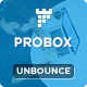 ProBox - SaaS Unbounce Landing Page Template - ThemeForest Item for Sale