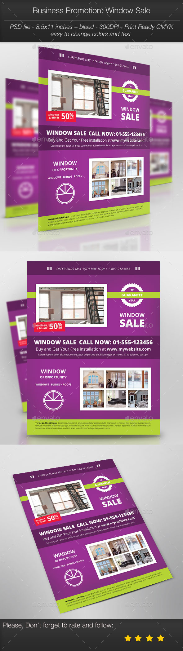 GraphicRiver Business Promotion Window Sale 10973228