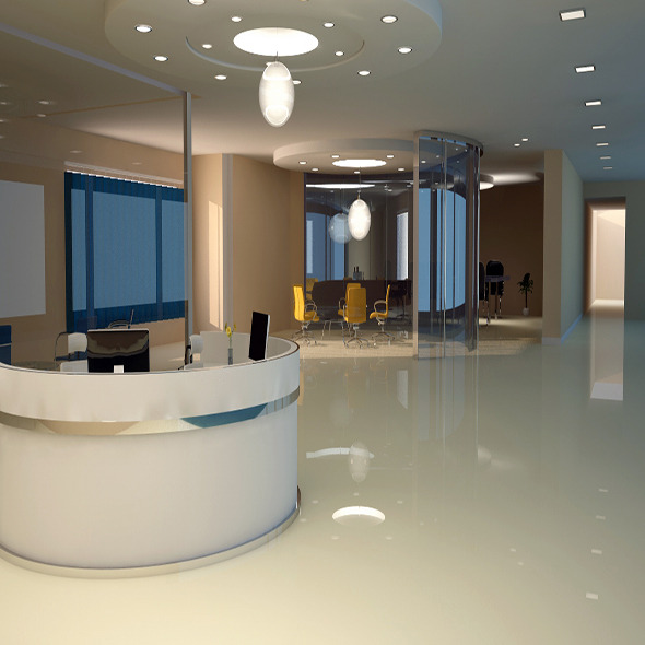 3DOcean Office interior v ray 10973406