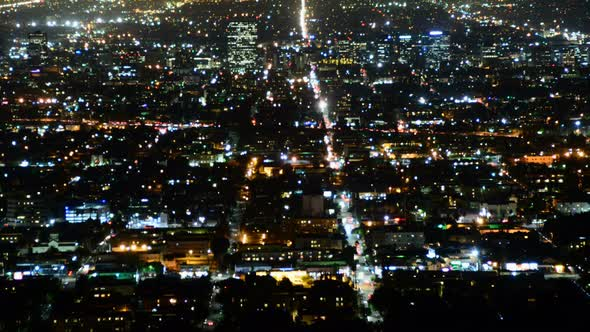 Los Angeles From Griffith Observatory 1