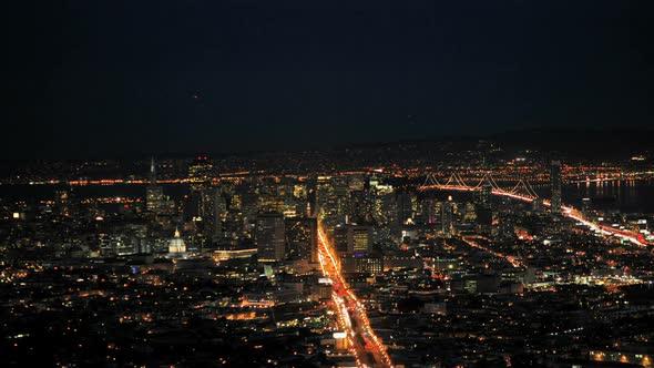 San Francisco Bay At Sunset Clip 2