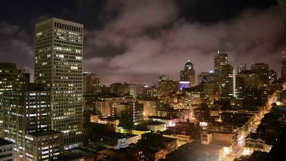 San Francisco Skyline At Night 3