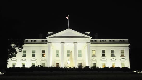 VideoHive The White House At Night 2 10974066