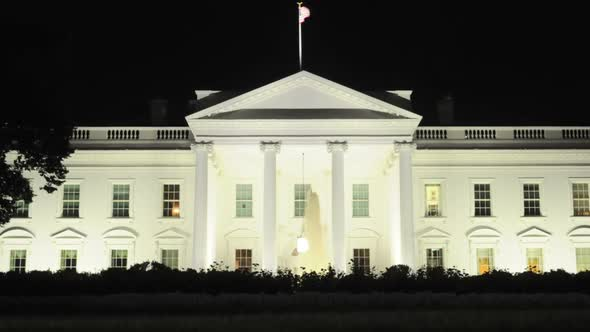 VideoHive The White House At Night 3 10974073