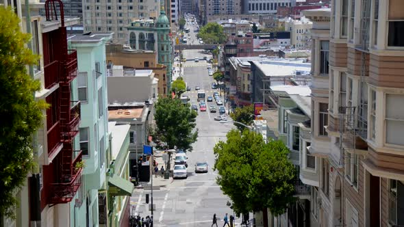 Traffic In Chinatown San Francisco 1
