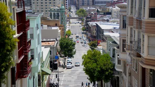 Traffic In Chinatown San Francisco 1
