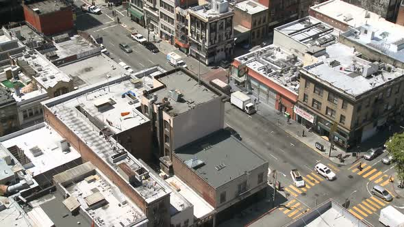 Traffic In Chinatown San Francisco 4
