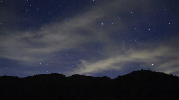Desert Star Lapse Black Rock Canyon 1