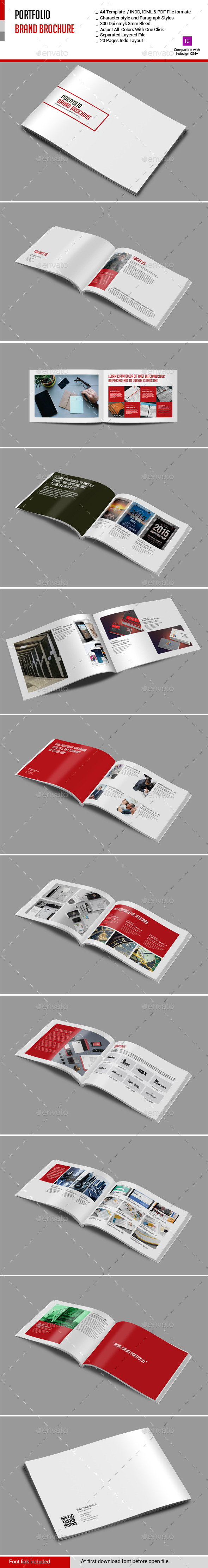 GraphicRiver Portfolio Brand Brochure 10974788