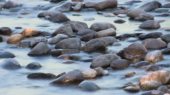 Blurred Stream Water Refreshing Clip 1
