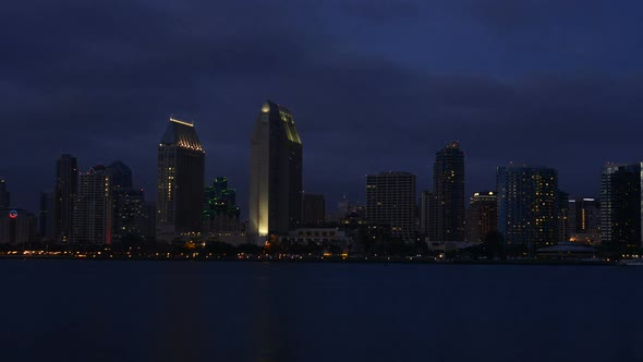 San Diego Bay And City 1