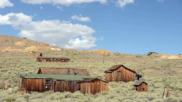 Bodie California Abandon Mining Ghost Town Daytime 1