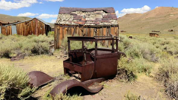 Bodie California Abandon Mining Ghost Town Daytime 2