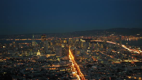 San Francisco In The Evening 1