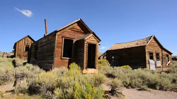 Bodie California Abandon Mining Ghost Town Daytime 14