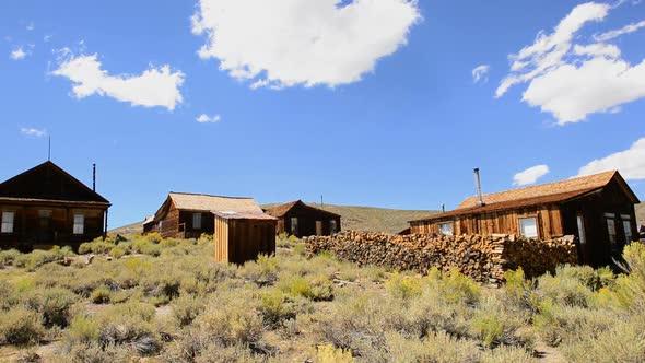 Bodie California Abandon Mining Ghost Town Daytime 2