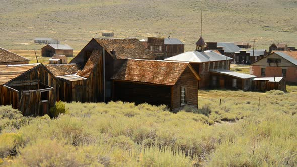 Bodie California Abandon Mining Ghost Town Daytime 29