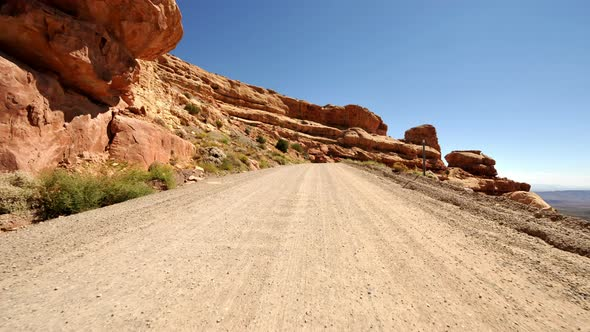 VideoHive Driving In Navajo Nation Time Lapse 3 10975399