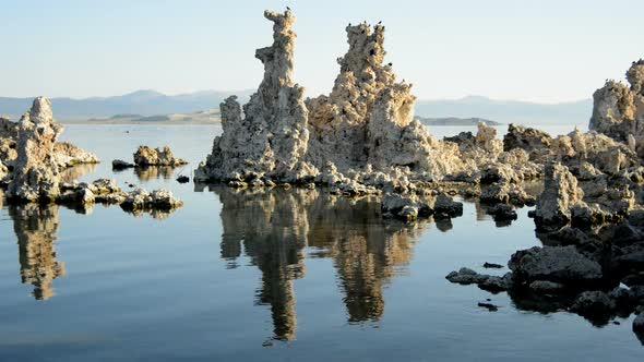 Tufa Formation On Scenic Mono Lake California 5