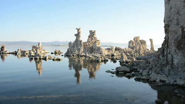 Tufa Formation On Scenic Mono Lake California 8