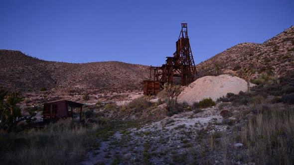 Abandon Gold Mine At Sunset 3