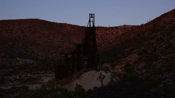 Abandon Gold Mine At Sunset 4