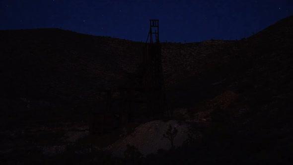 Abandon Gold Mine At Sunset 1