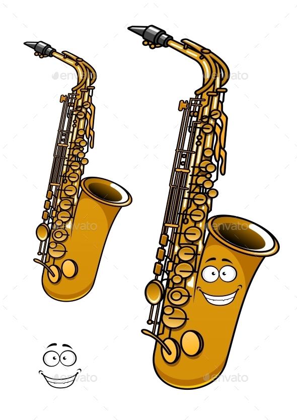 GraphicRiver Saxophone 10976563