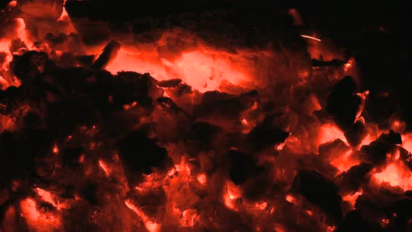 VideoHive Hot Coals Clip 1 10976672