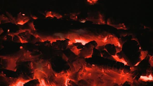 VideoHive Hot Coals Clip 2 10976676