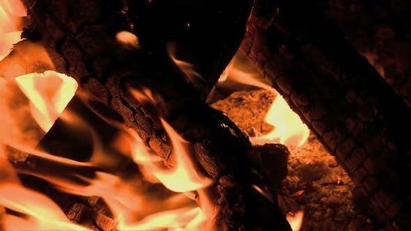 VideoHive Camp Fire Clip 3 10976904