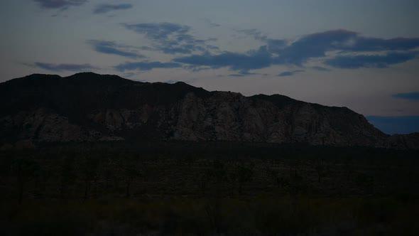 Time Lapse Of Sunset In The Desert Joshua Tree National Park 1
